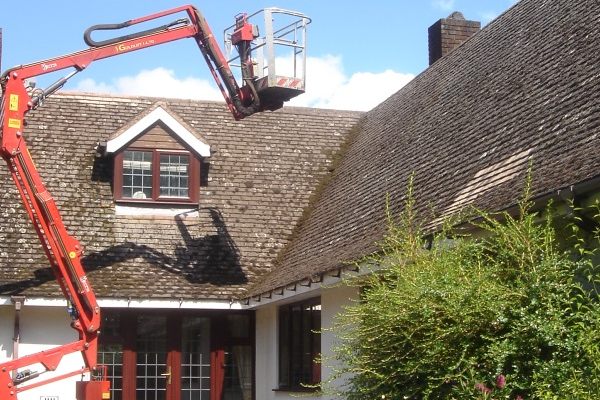 Cherry Picker For Hire Roof Repairs In Bristol Roofing