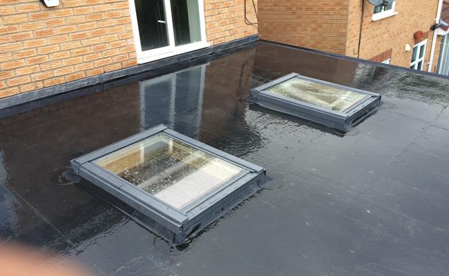 Flat Roof Repair Fibreglass Flat Roofing In Bristol